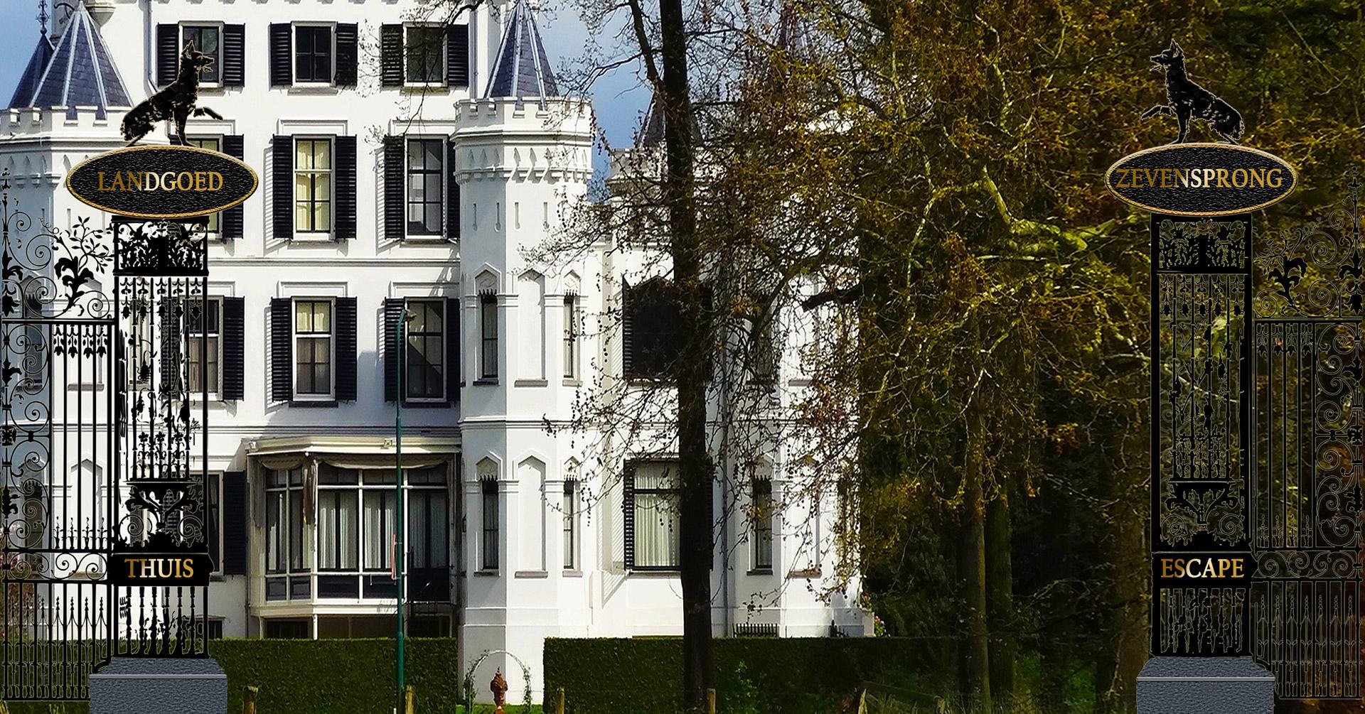 Landhuis Zevensprong pagina