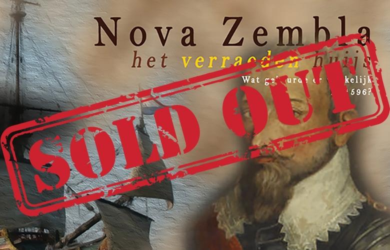 Nova Zembla Het Verraeden Huys homepage uitverkocht